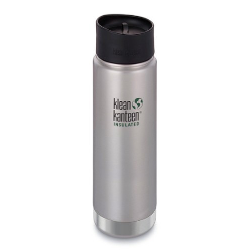 SALE - Insulated Wide Mouth Travel Mug 592 ml/ 20 oz Klean Kanteen With Leak Proof Coffee Cap