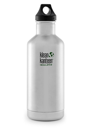 SALE - Klean Kanteen Insulated Classic with Polypropylene Loop Cap - 0.95 L / 32 oz