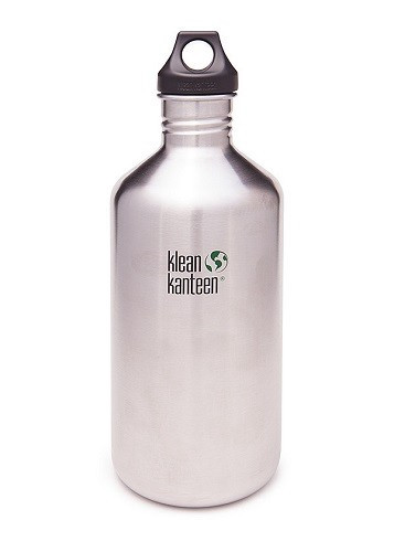 SALE - Klean Kanteen Classic  with Loop Cap - 64 oz / 1.9 L