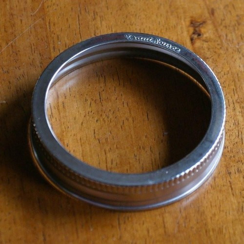 Stainless Steel Wide Mason Jars Lids - 3 Pack
