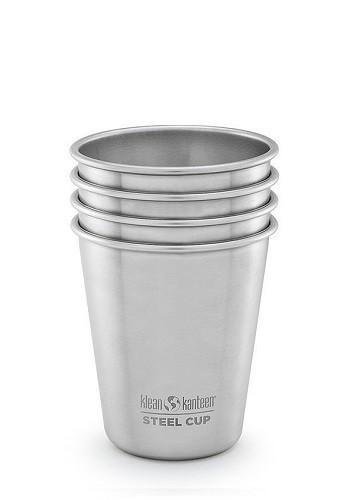 DISC - Klean Kanteen Steel Cup - 4 Pack - 295 ml / 10oz