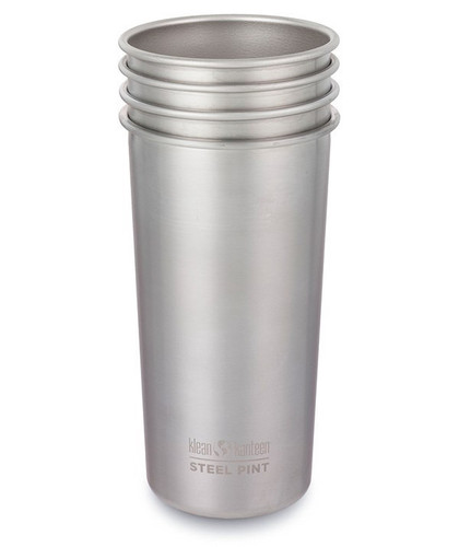 Steel Pints by Klean Kanteen - 4 Pack - 592 ml / 20 oz
