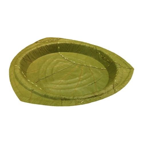 """Natural Biodegradeable Large Leaf Plate - 28 cm / 11"""""""