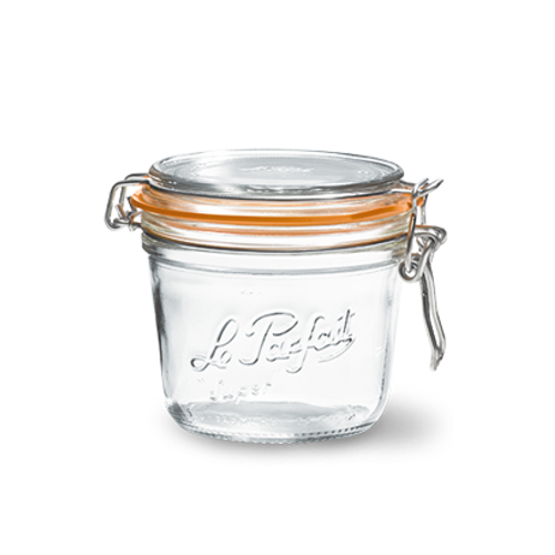 Le Parfait Glass Jar - 500 ml / 16 oz