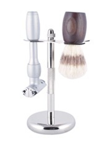 Shaving Kit Stand - Chrome
