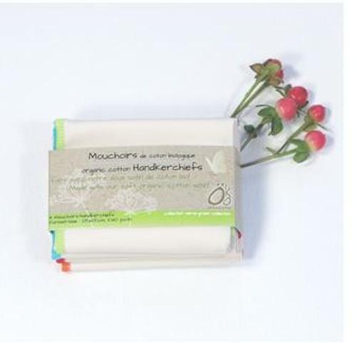 Organic Cotton Tissues-Hankies (Pack of 4)