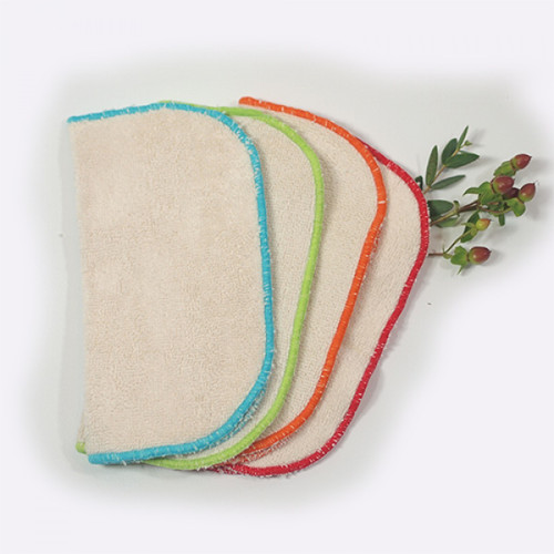 Small Face Cloths-Wipes - Organic Cotton