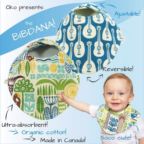SALE - Bibdana - Ukulele - Organic Cotton