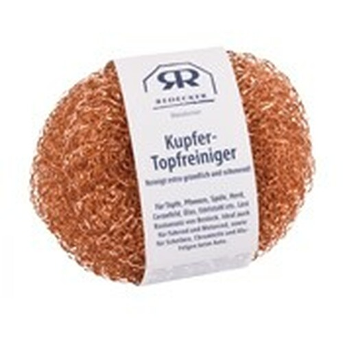Copper Scrubber for Cleaning Pots and Pans - Pack of 2