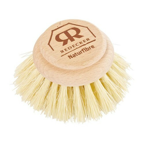 Plastic-Free Dish Washing Brush Replacement Head - Hard Bristles