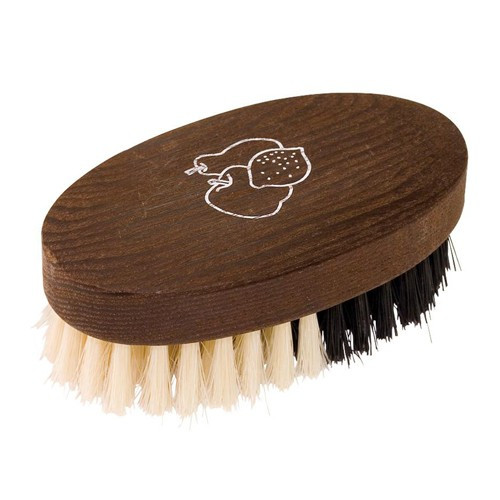 Plastic-Free Fruit and Vegetable Thermowood Brush