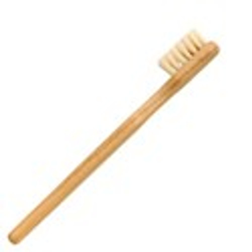 Set of 10 Plastic-Free Wooden Toothbrushes for Children