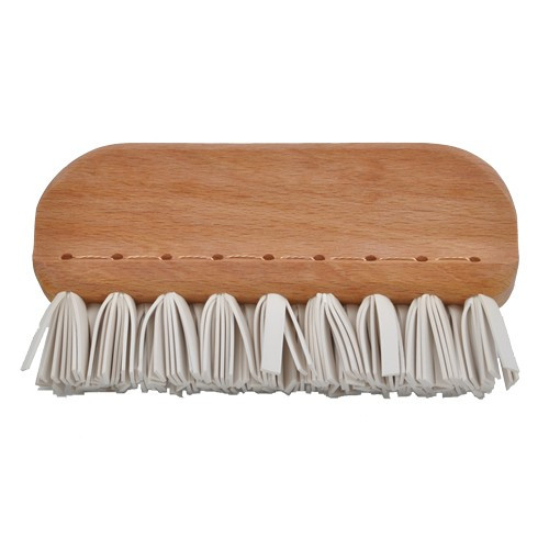 SALE - Handmade Non-Plastic Natural Rubber Lint Removal Brush