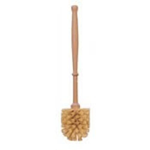 Plastic-Free Wooden Toilet Brush - Stiff Bristles