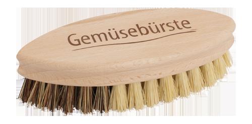 Plastic-Free Wooden Vegetable Brush