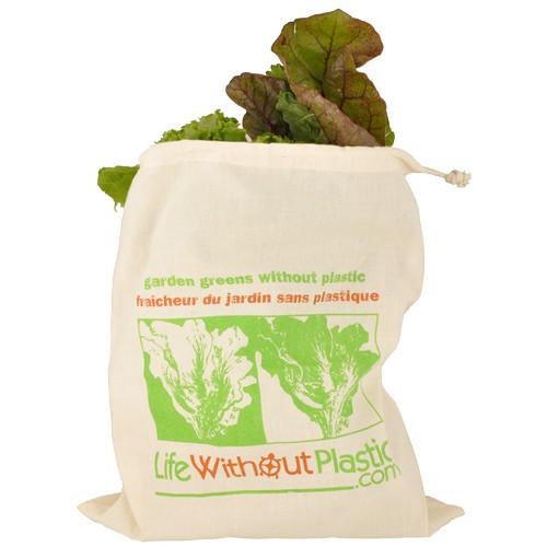 Organic cotton greens bag