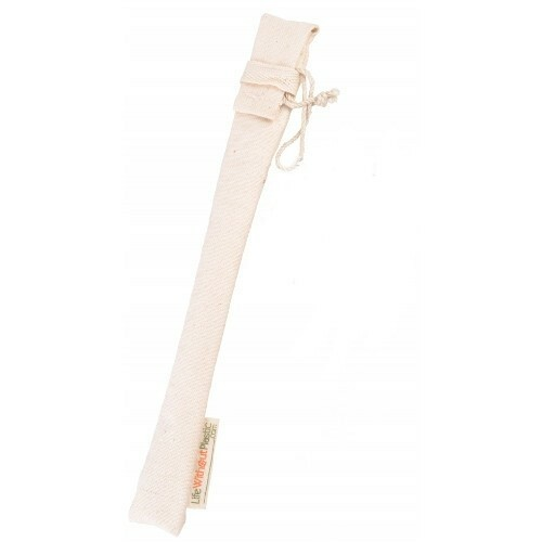SALE - Organic Cotton Straw Sleeve - 23cm / 9.05""