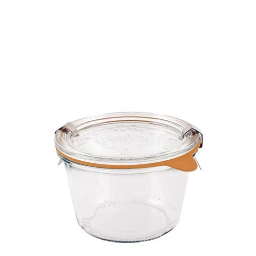 SALE - Weck Glass 1/4 L Mold Canning Jar (#741) - 370 ml / 12.5 fl oz
