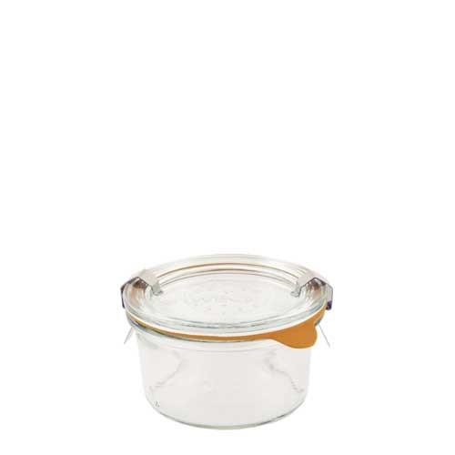 SALE - Weck Glass Mini Mold Canning Jar (#976) - 165 ml / 5.6 fl oz