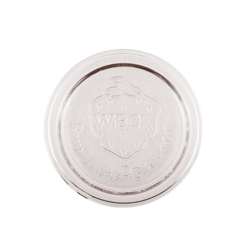 SALE - Weck Large Glass Canning Lid