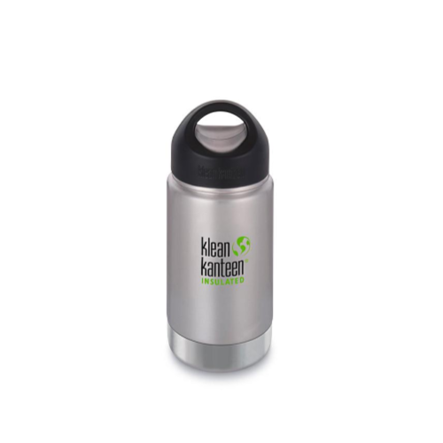 Klean Kanteen Insulated Bottle with Wide Loop Cap - 355 ml / 12 oz