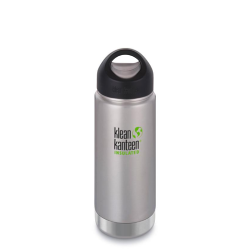 Klean Kanteen Insulated Bottle with Wide Loop Cap - 473 ml / 16 oz
