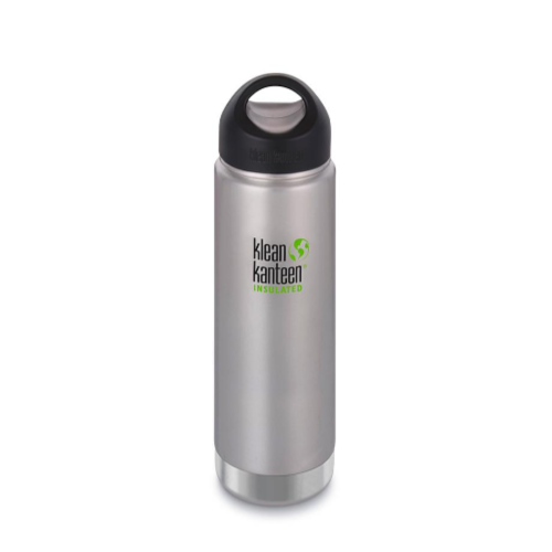 Klean Kanteen Insulated Bottle with Wide Loop Cap - 592 ml / 20 oz