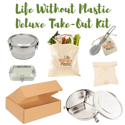 Life Without Plastic deluxe take-out kit contents