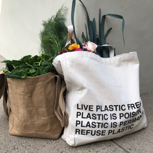 Reusable PPC tote bag