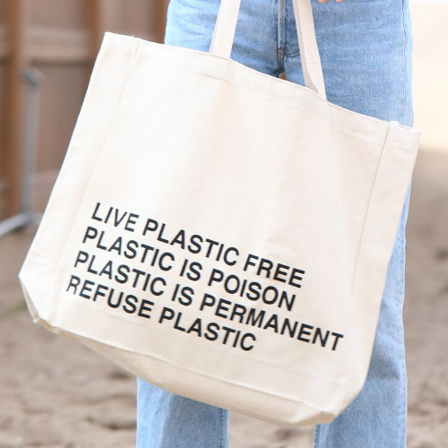 PPC Reusable Tote Bag - Live Plastic Free