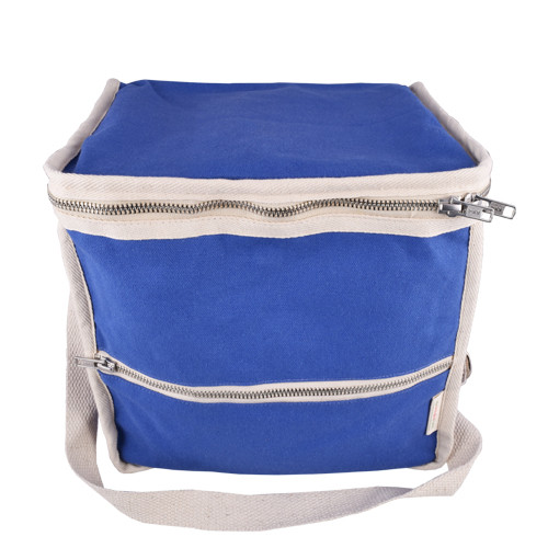 Life Without Plastic Clean Lunch Bag - Square - Blue