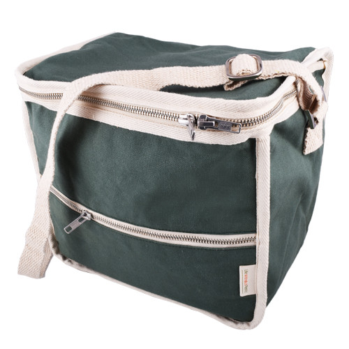 Life Without Plastic Clean Lunch Bag - Rectangular - Green