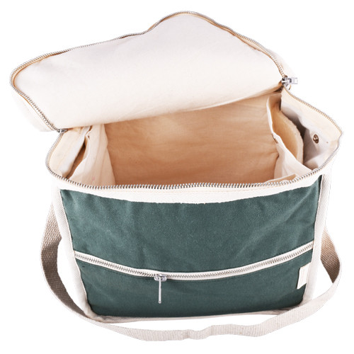MONTHLY SALE - Life Without Plastic Clean Lunch Bag - Rectangular - Green