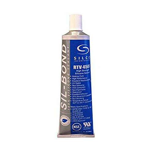 Clear Food Grade Silicone for Replacing Seals - 2.8 oz / 82 ml