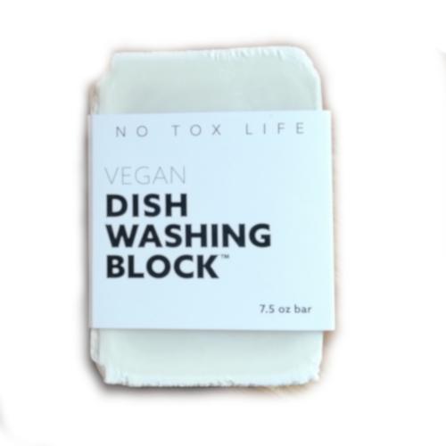 Plastic-Free All-Natural Dish Soap Bar - main