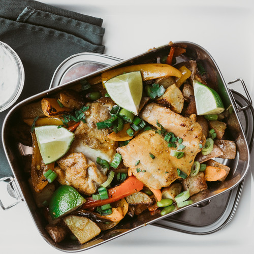 Stainless steel container - lunch