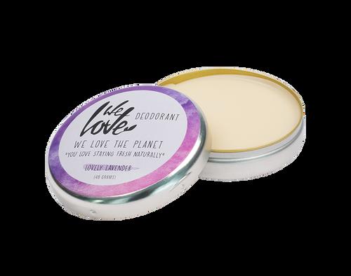 Plastic-Free Deodorant in Metal Tin - Lavender
