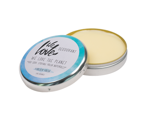 Plastic-Free Deodorant in Metal Tin - Forever Fresh