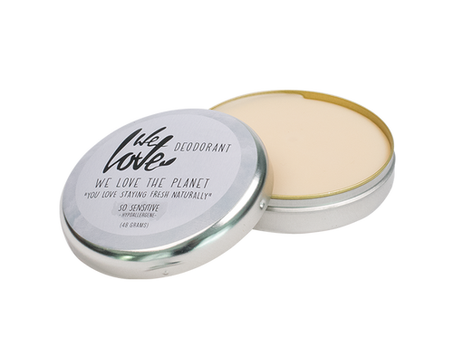 Plastic-Free Deodorant in Metal Tin - So Sensitive