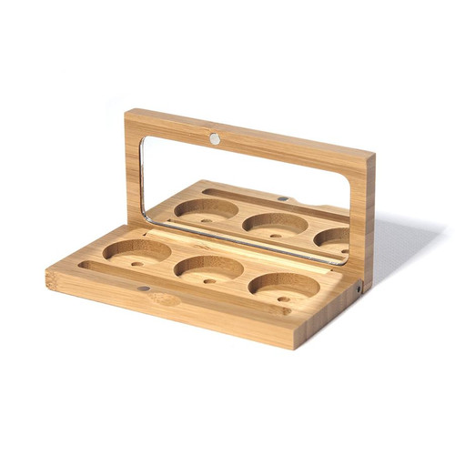 Sustainably-Sourced Bamboo Makeup Case