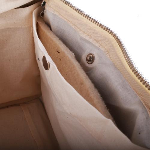 Plastic-Free Clean Lunch Bag - Rectangular - Black