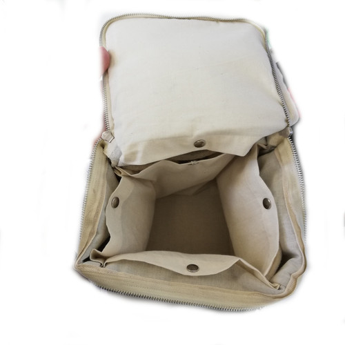 Square lunch bag - inside