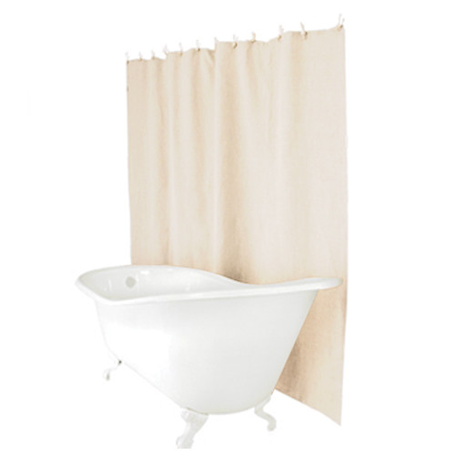 Linen Shower Curtain - Natural