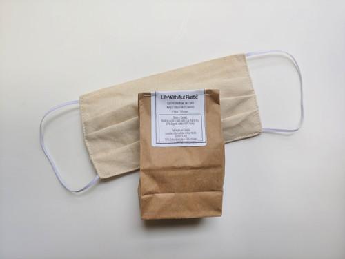 Organic Cotton and Hemp Face Mask