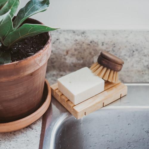 Solid Dish Soap Bar - context