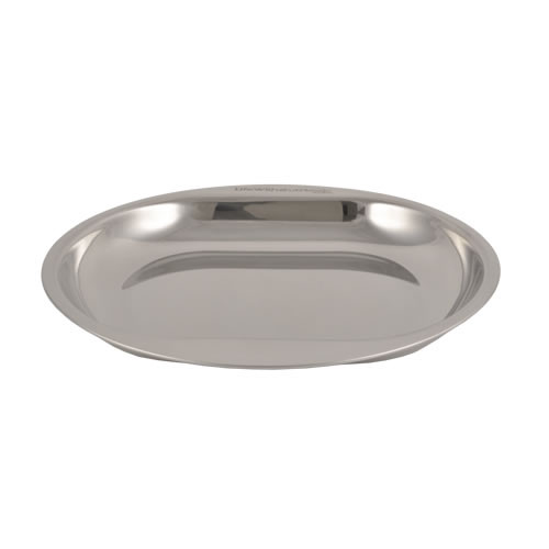 Double Grip Stainless Steel Life Without Plastic Plate