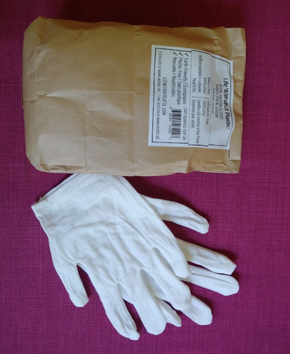 Cotton Gloves - 10 Pairs