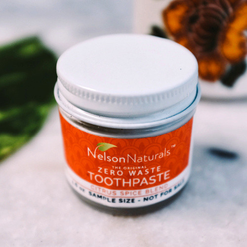 Natural Toothpaste in a Glass Jar - Citrus Spice - 50 ml