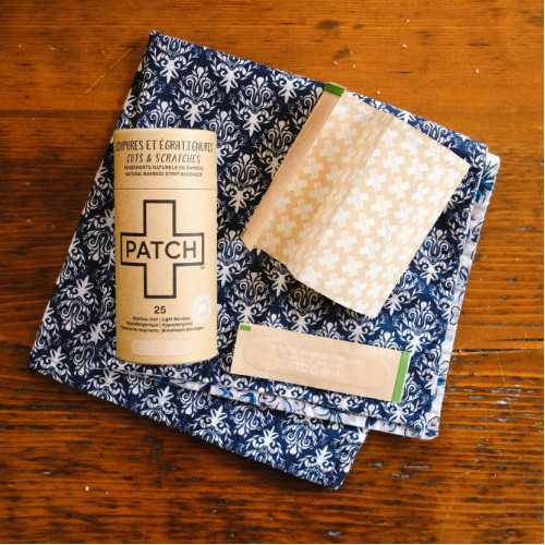 Patch Plastic-Free Bandages - 25 Natural