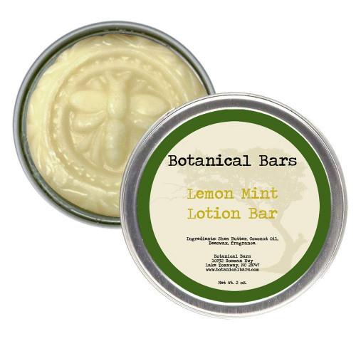 Body Lotion Bar Lemon Mint